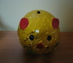Mouse Gold coin Bank